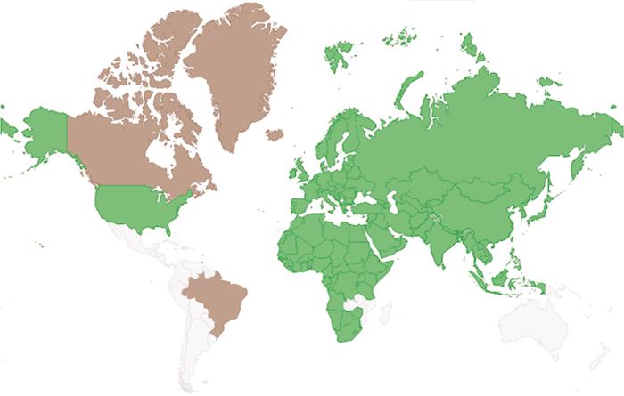 La Potenza del Volo - Gheppio Europeo - mappa